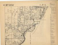 Map Image 041, Bayfield County 1954